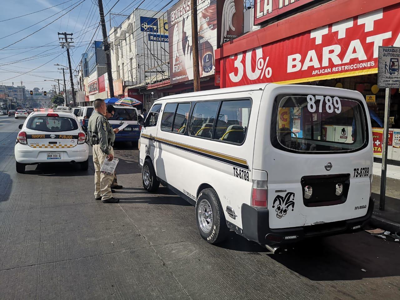 Operativo transporte público