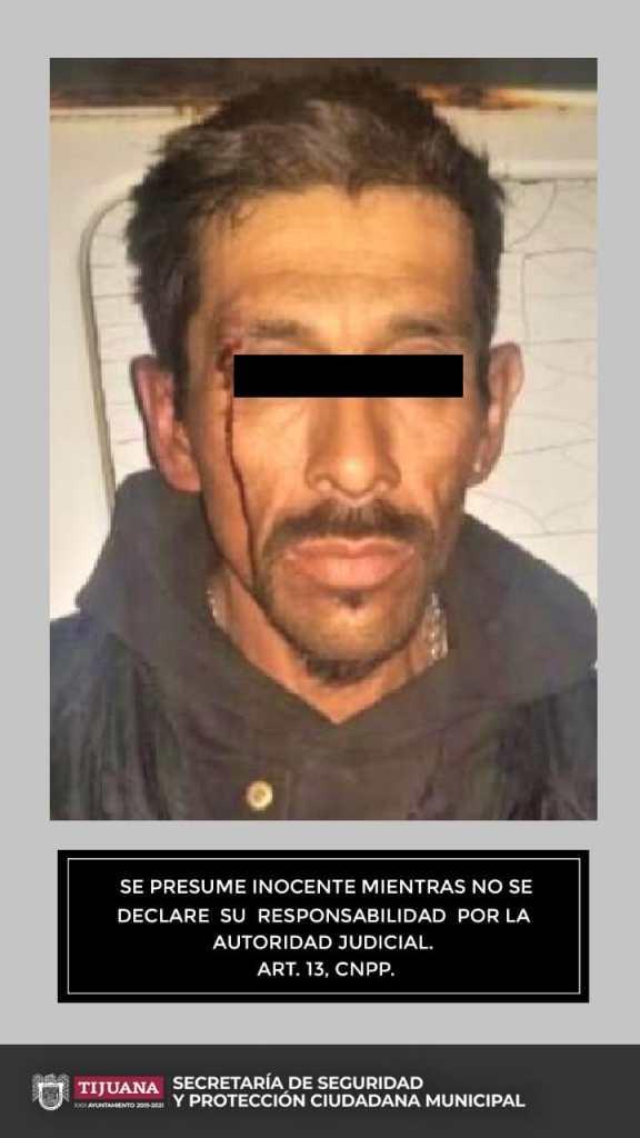 Detenido en persecución, Tijuana