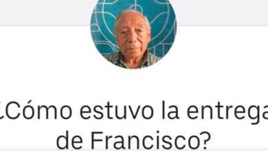 Photo of Abuelito hace Uber Eats caminando para ganarse la vida