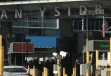 Photo of Estadunidense intenta cruzar seis chinos por San Ysidro