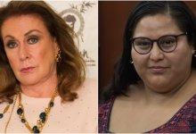 Photo of Laura Zapata ataca a senadora llamándola 'gorda traicionera'