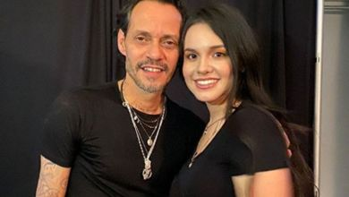 Photo of Tunden a Marc Anthony por foto con Sarita