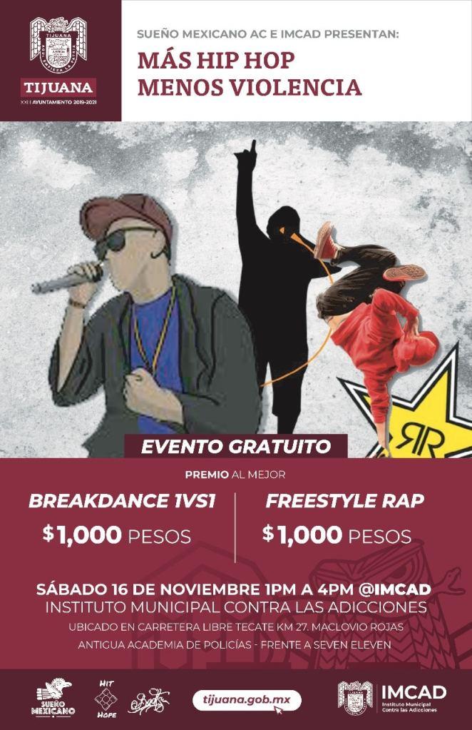 Presentan Más Hip Hop Menos Violencia