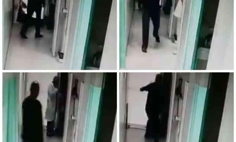 Médico del IMSS recibe brutal golpe, le fracturaron la quijada