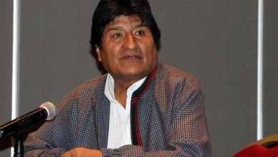 Photo of Evo Morales deja México