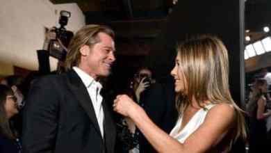 Photo of Así fue el reencuentro de Jennifer Aniston y Brad Pitt