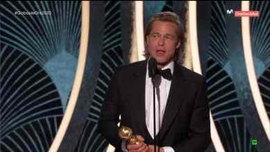 Cámara capta la cara de Jennifer Aniston cuando Brad Pitt ganó
