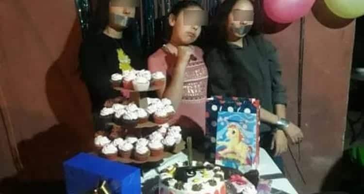 Padres arman fiesta de sicaria a su hija, hubo 'secuestrados'