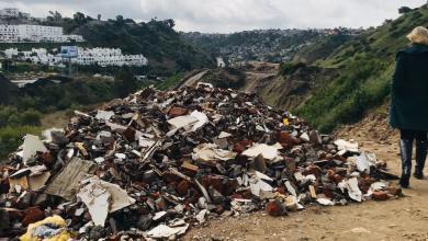 Photo of Otra vez inundan con basura el Cañón del Matadero