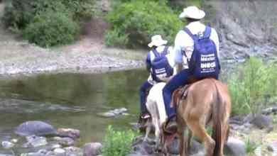 Photo of Encuestadores del Inegi van en burro a realizar Censo