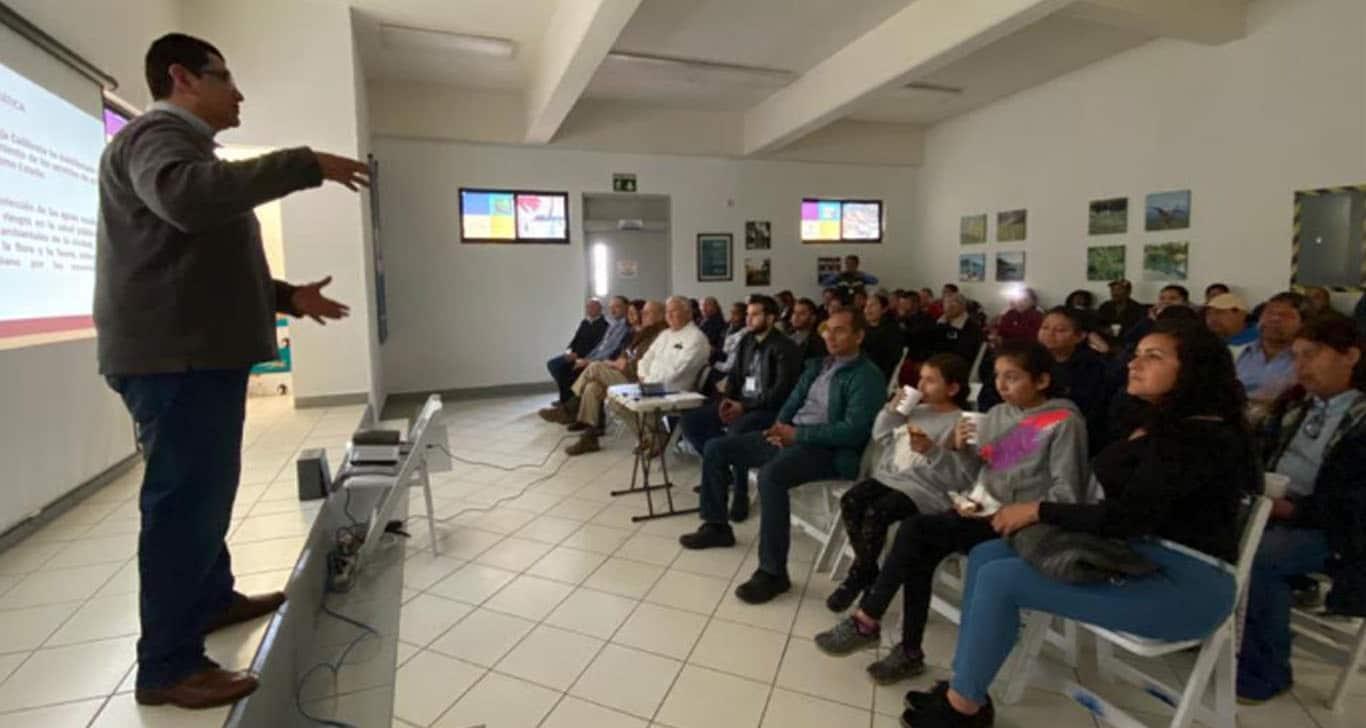 CESPT realiza 1ra consulta pública ciudadana en Planta de Tratamiento