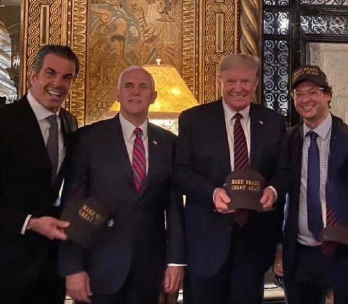 Trump estuvo con funcionario brasileño que dio positivo a coronavirus