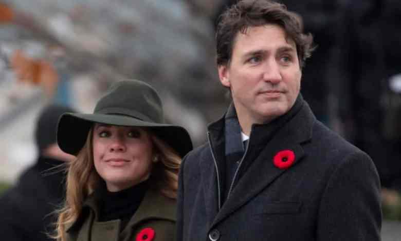 Esposa de Justin Trudeau da positivo a coronavirus