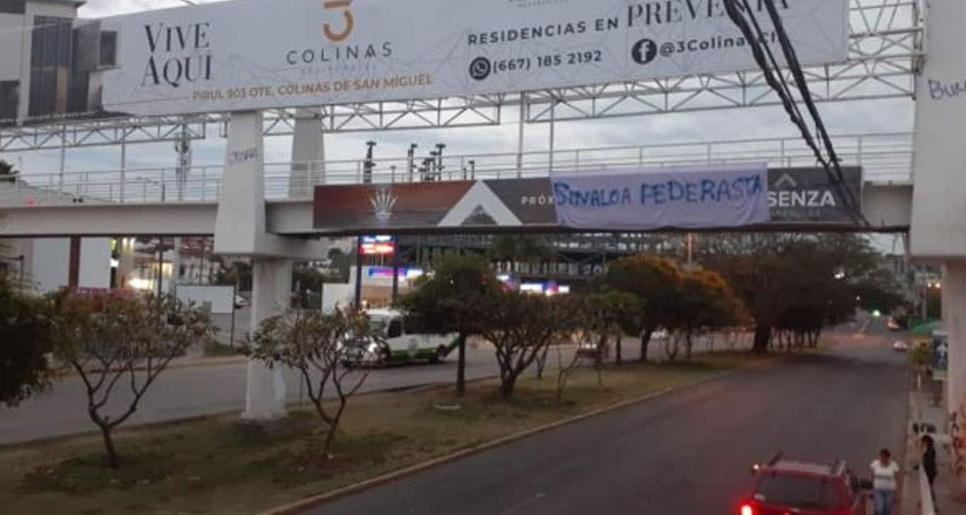 'Sinaloa pederasta', el lema con el que protestan mujeres