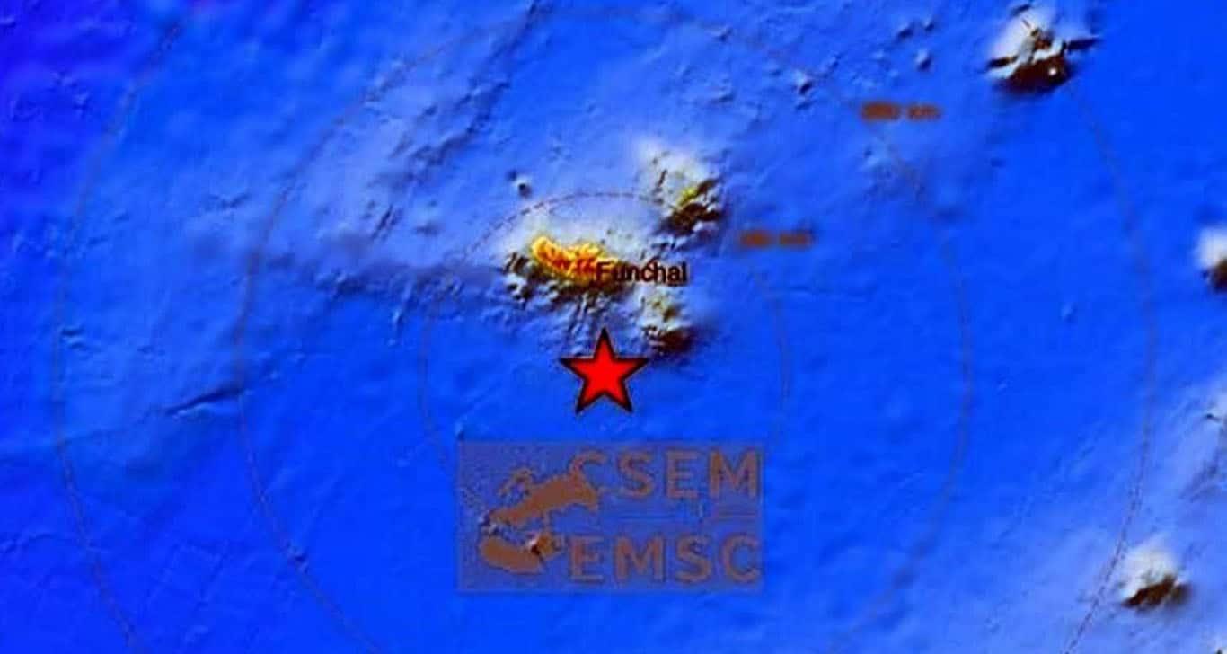 Fuerte sismo de 6.2 sacude isla de Madeira, Portugal