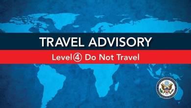 Photo of Alerta nivel 4, pide EEUU a sus ciudadanos regresar al país