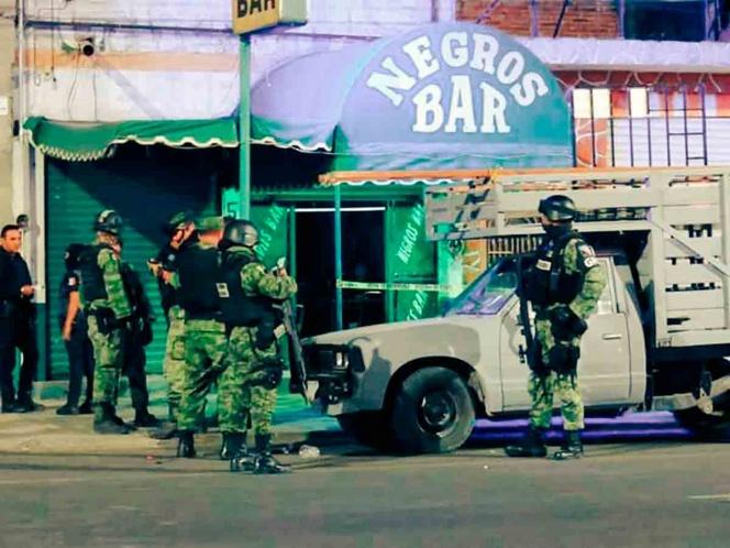Ataque armado a bar de Celaya deja 5 muertos