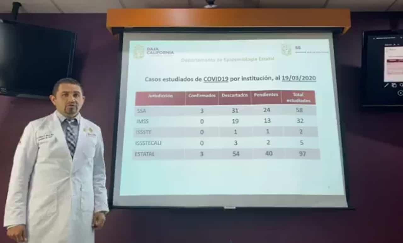 CONFIRMADO: Primer caso de coronavirus en Tijuana