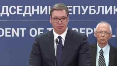 Unión Europea niega ayuda a Serbia afirma presidente al borde del llanto