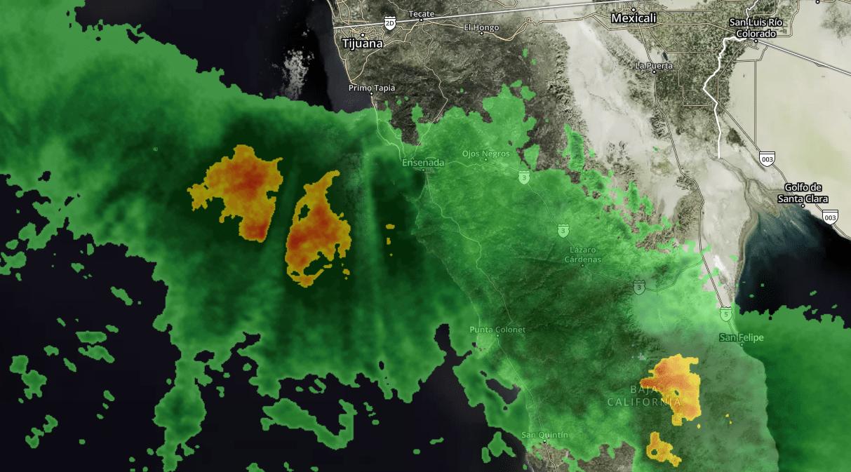 tormenta tijuana radar