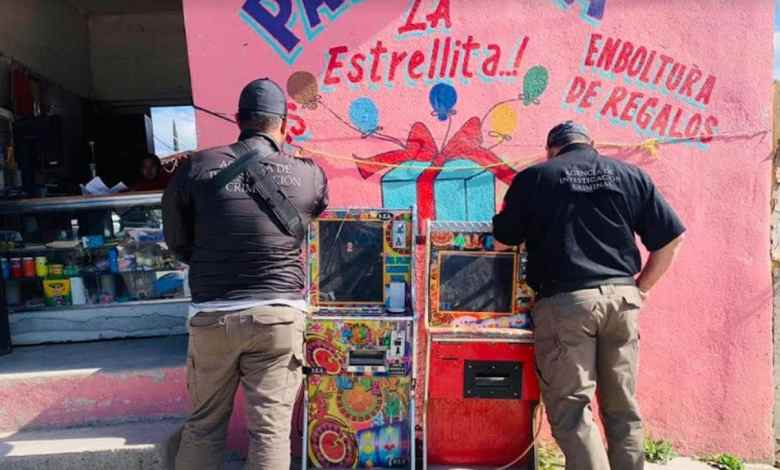 FGR asegura 40 máquinas tragamonedas en Tijuana