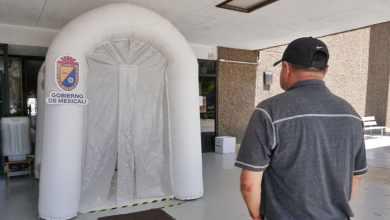 Photo of Instalan primer túnel sanitizante en Ayuntamiento de Mexicali