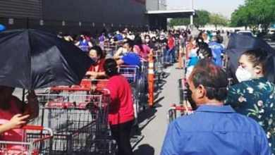 Photo of VIDEOS: Filas eternas para entrar a Costco