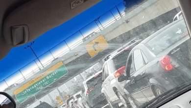 Photo of FOTOS: Hay larga espera de cruce…a Tijuana