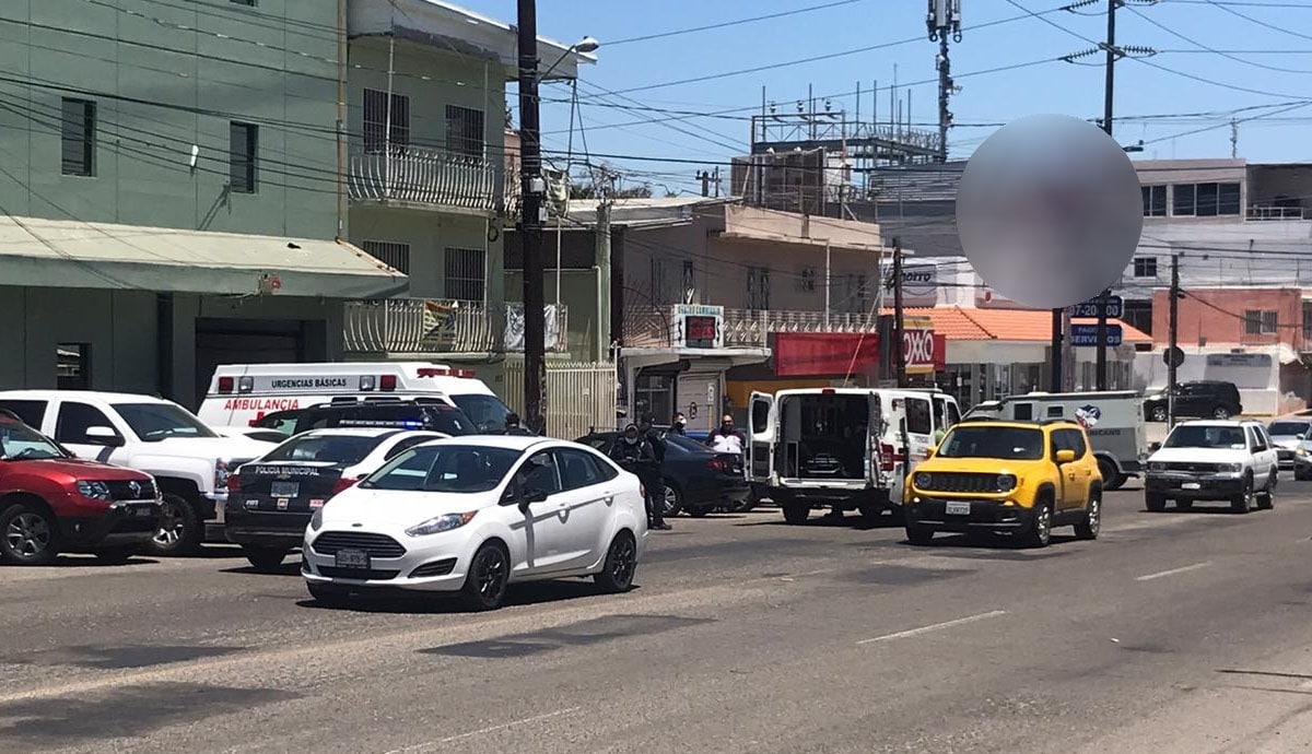 Herido por arma de fuego se traslada en auto a pedir ayuda