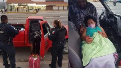 Photo of Mujer da a luz con ayuda de policías municipales