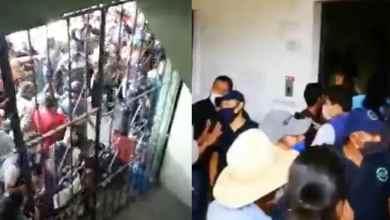 Photo of VIDEO: A golpes impiden sanitización de alcaldía
