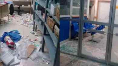 No-creen-en-Covid-19-se-oponen-a-sanitización-y-vandalizan-hospital