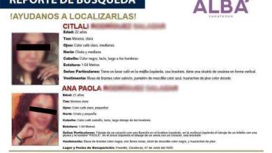 Photo of Localizan cadáveres de hermanas reportadas como desaparecidas