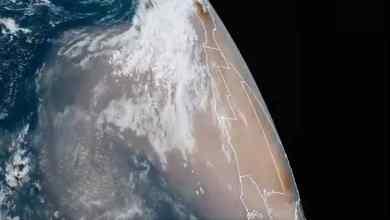 Photo of Llegará inmensa nube de polvo del Sahara a México
