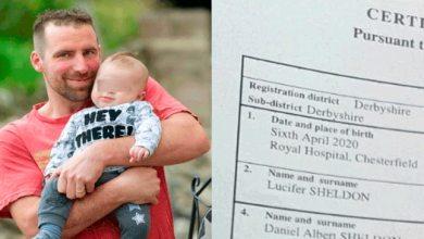 nombre lucifer registro civil