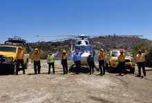 Photo of Llega helicóptero para combatir incendios en Baja California