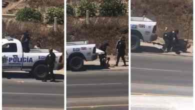 Photo of Graban abuso de policías de Rosarito contra un hombre y su esposa