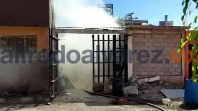 Photo of Fuego causó graves daños en una vivienda en pocos minutos