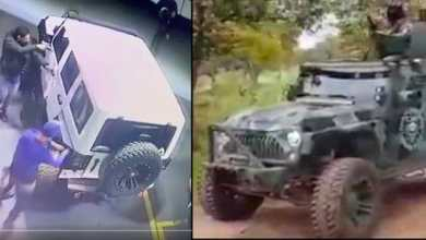 Photo of Reconoce su Jeep robado en video del CJNG