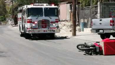 Photo of Auto choca contra repartidor de moto