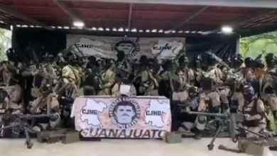 Photo of VIDEO: CJNG mantendrá paz y seguridad tras detención de 'El Marro'
