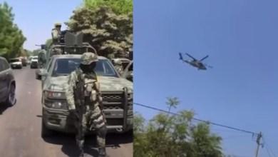 VIDEO:Así-dispararon-a-helicóptero-de-Ejército-tras-arresto-del-Mini- Gordo