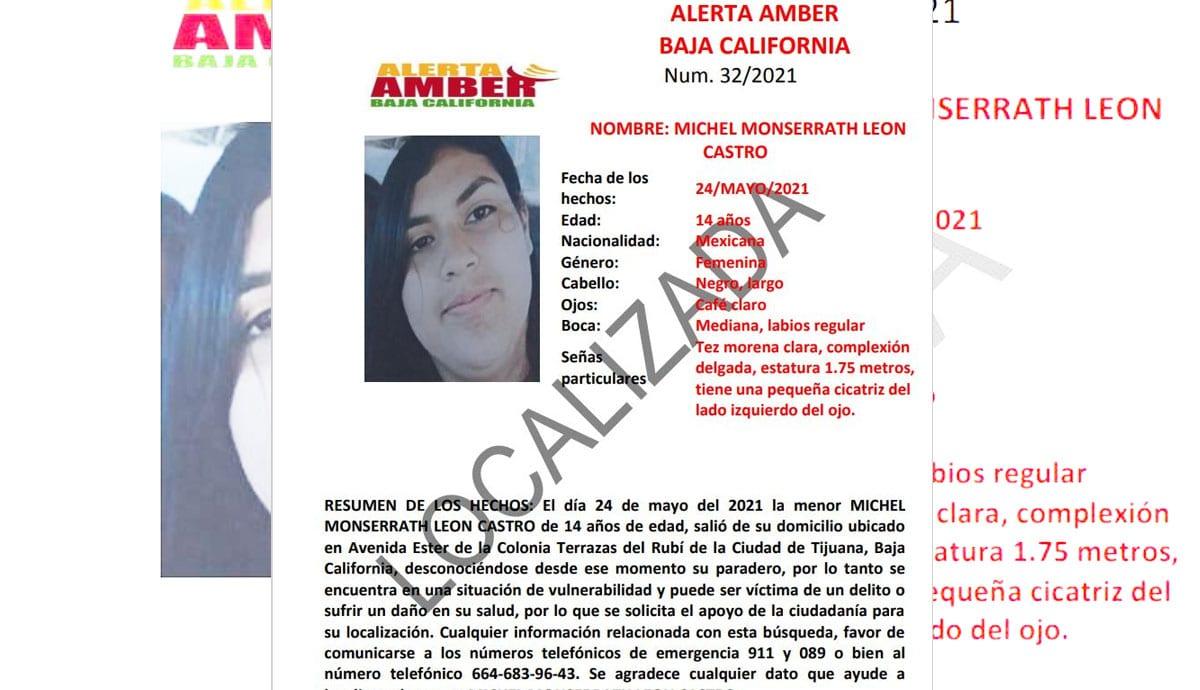 Cancelan-Alerta-Amber-por-Michel-León-Castro