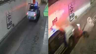 VIDEO-Policías-atropellan-a-abuelito-a-bordo-de-su-bicicleta