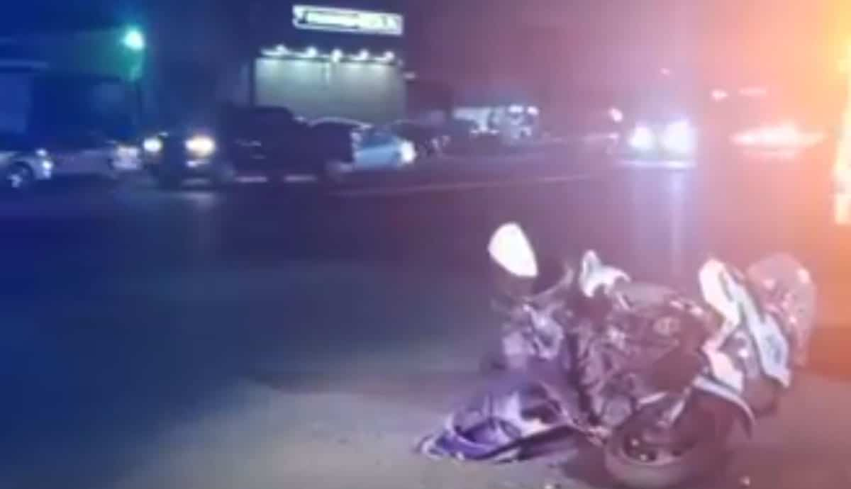 Automovilista-impacta-a-policía-a-bordo-de-motocicleta