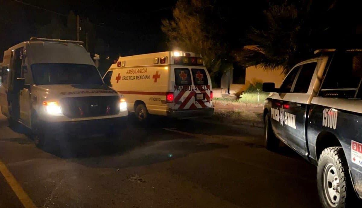 Sujetos-armados-roban-ambulancias-de-Cruz-Roja