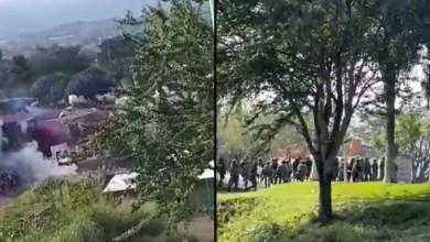 VIDEO-Civiles-agreden-a-militares-y-se-desata-enfrentamiento