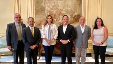 Marina-del-Pilar realizó gira de trabajo por San Diego