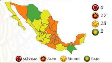 México-sin-estados-en-rojo-en-Semáforo-Epidemiológico