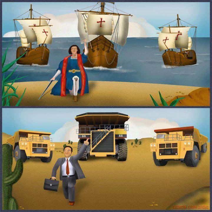 La recolonización en América Latina